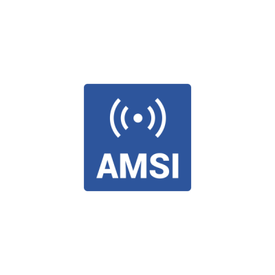 AMSI BLUE - Small square space